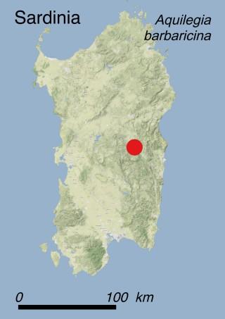 Map Sardinia